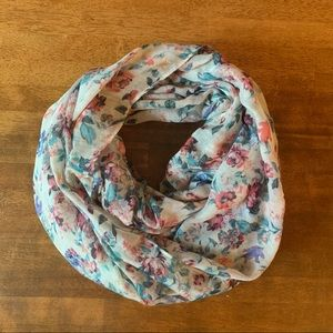 Floral Print Infinity Scarf | Charlotte Russe